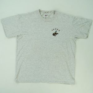 Vtg 90's Embroidered Texas Cowboy Rodeo Dad Shirt